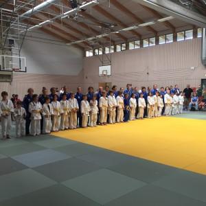 Heimkampf Bundesliga Mai 2016_Einlauf mit Judo-Kids