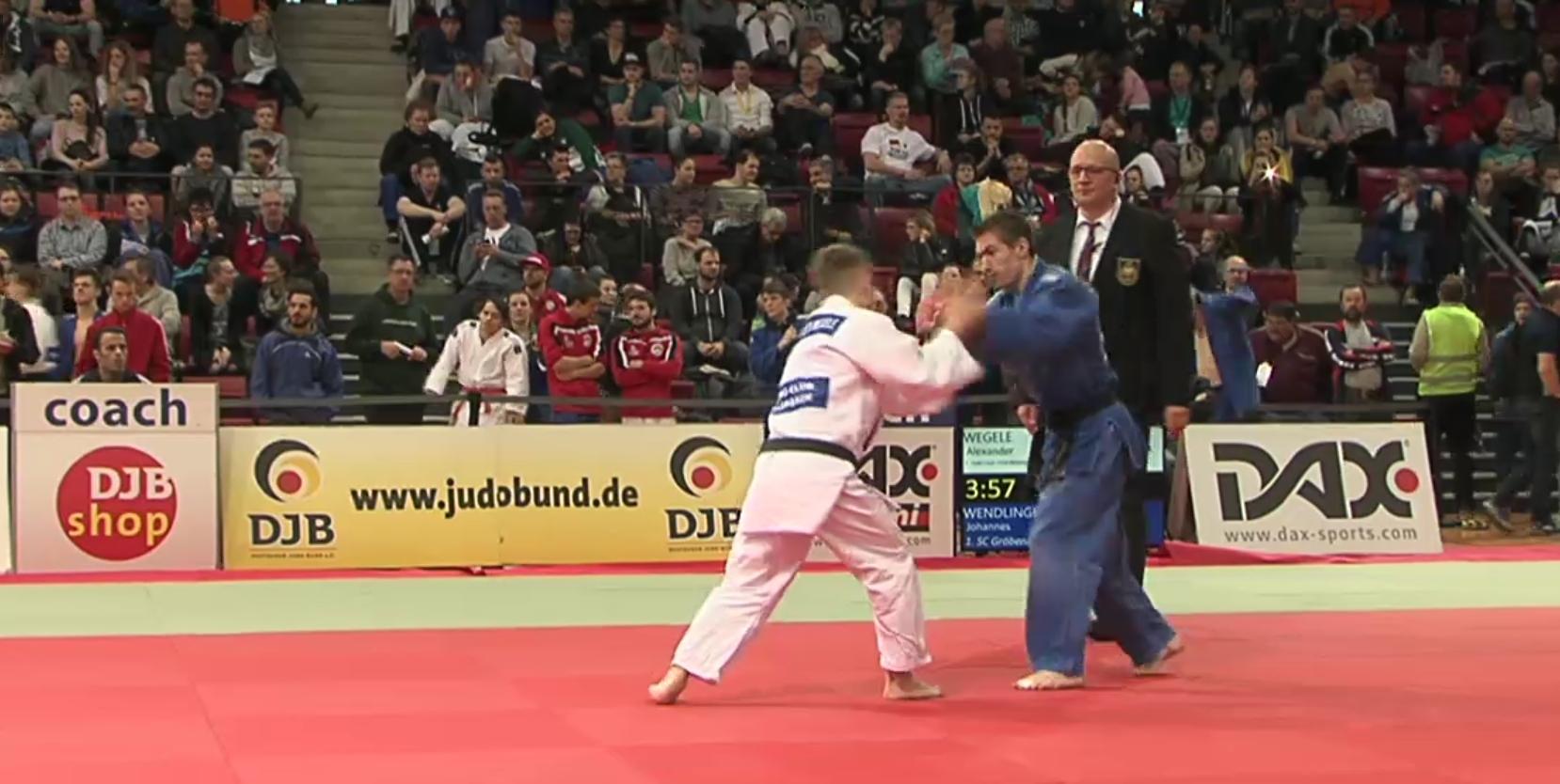 Johannes Wendlinger auf der Deutschen Meisterschaft 2018