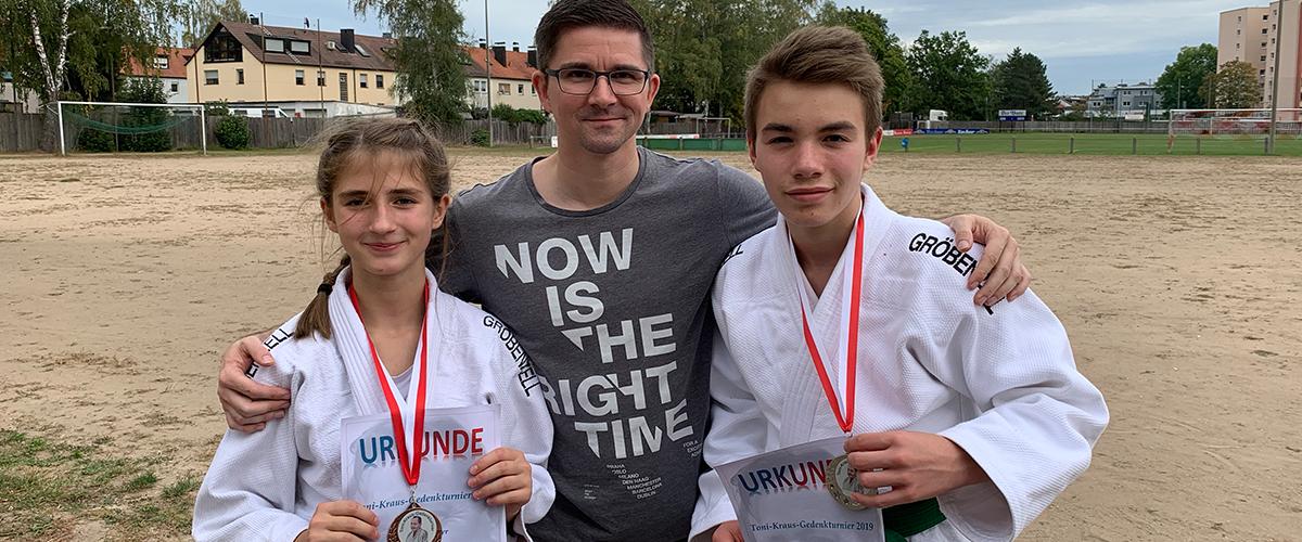 Zwei Medaillen beim Toni-Kraus-Gedenkturnier